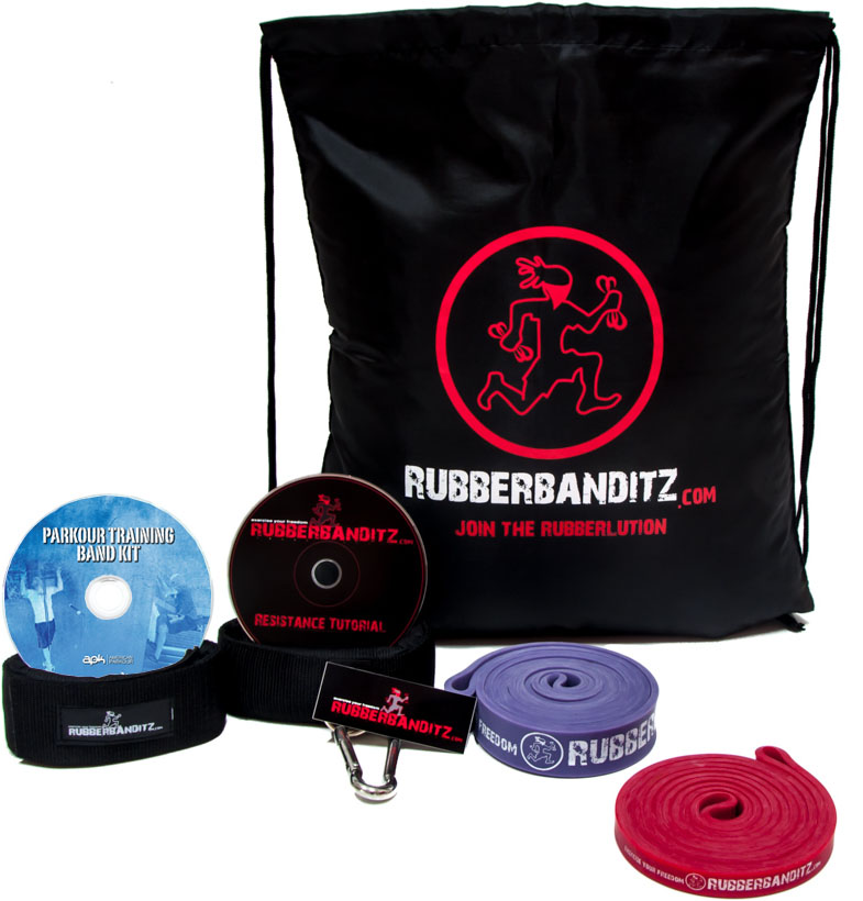 The Red Parkour Training Kit