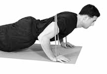 Push Up with band over back