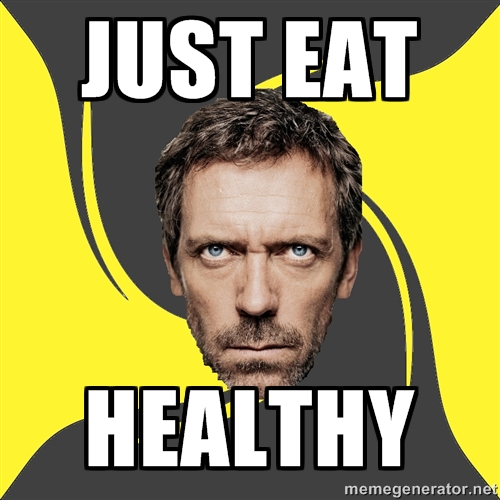 Funny Healthy Eating Meme : Ways to prevent injuries