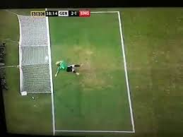 England's goal against Germany disallowed. Time for goal line technology?